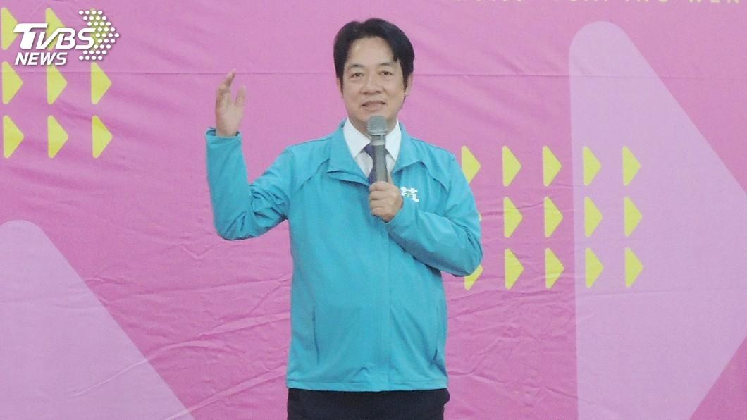圖/中央社 賴清德:如同台灣關係法 香港人權法案將助港