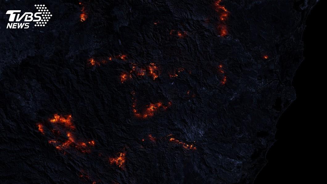 圖/達志影像路透社 澳洲受野火所苦 群眾示威籲重視氣候變遷
