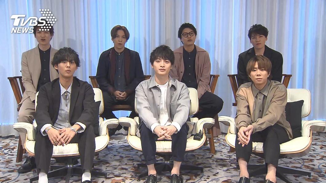 圖/TVBS 首次海外演出獻台! 傑尼斯團:想吃小籠包