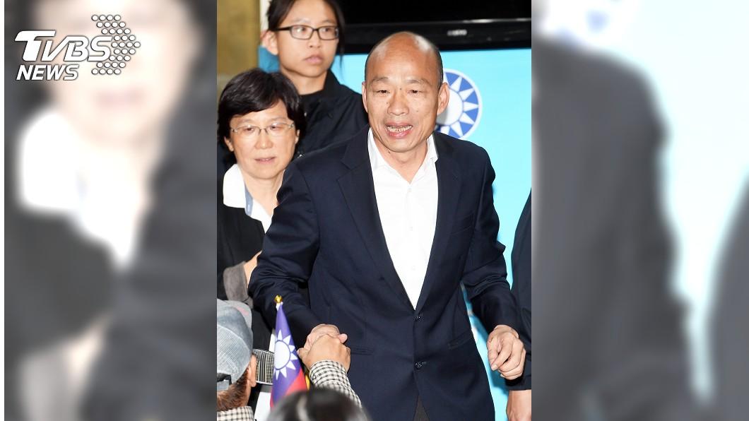 圖/中央社 澳媒指王立強只是「低階小角色」 韓國瑜:謝謝澳洲媒體