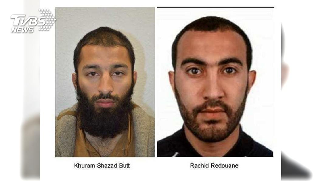 圖/達志影像美聯社 倫敦恐攻嫌有前科! 刑期未過半即假釋又犯案