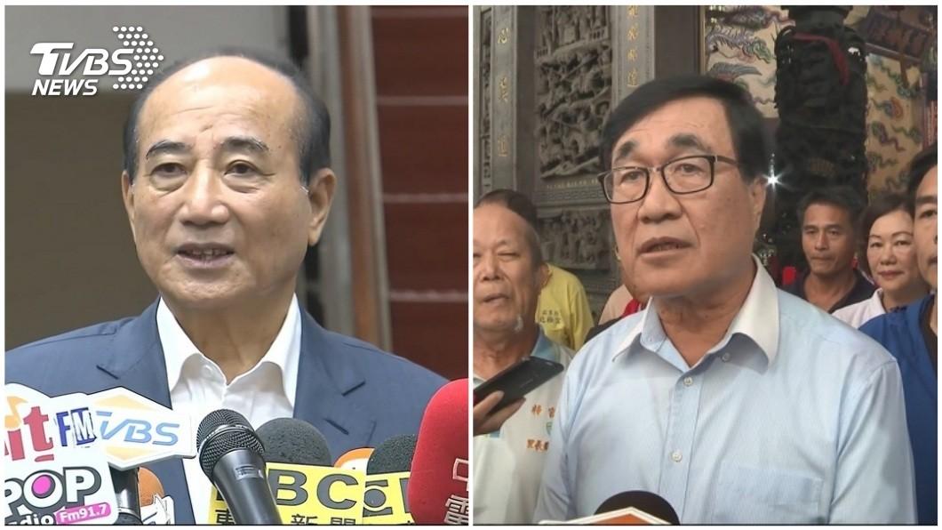 合成圖/TVBS 快訊/為韓尋求藍營整合 李四川上月見王金平