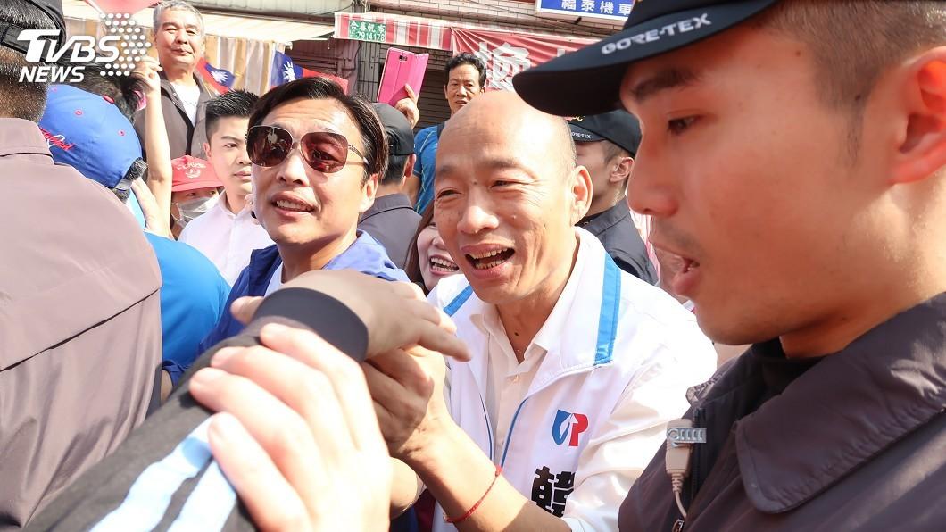 圖/中央社 高分檢簽結外患罪 韓國瑜:證明未支持一國兩制