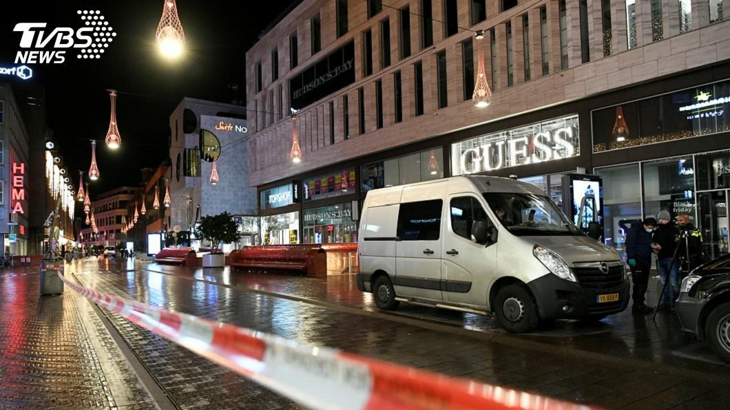 圖/達志影像路透社 荷蘭海牙3人遭刺傷事件 警方查無犯嫌恐攻動機
