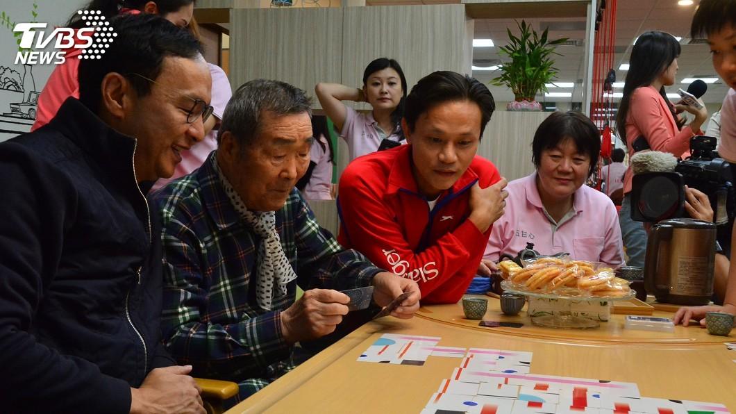 圖/中央社 朱立倫:選戰如棒球賽 團結找回朋友拚到底
