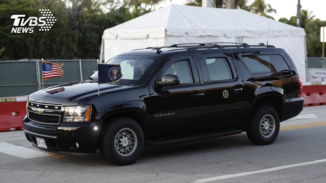 圖/達志影像美聯社 岀門每分鐘耗資近8萬! 美國總統車隊學問大