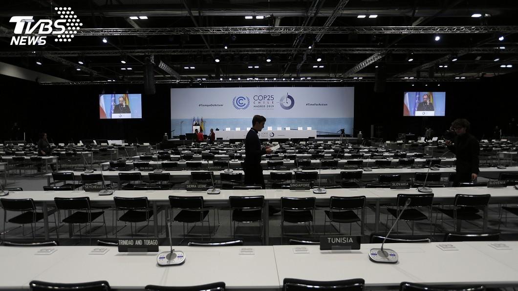 圖/達志影像美聯社 抗暖化關鍵時刻 聯合國氣候會議卻如在平行時空
