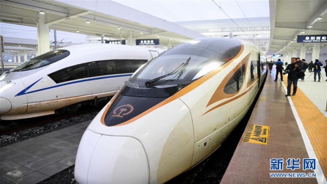 圖/翻攝自 新華網 貫通內陸!中國大陸高鐵一天通三線