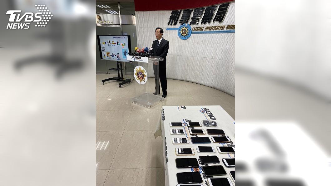 圖/中央社 跨境電信詐欺機房得手近千萬 刑事局攻堅逮8嫌