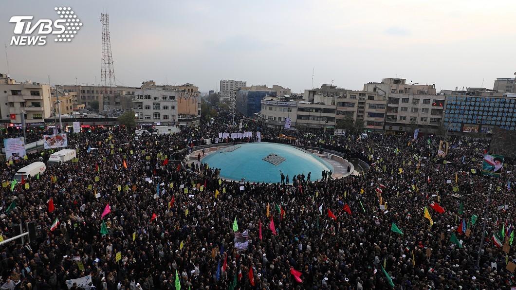 圖/達志影像路透社 伊朗強勢武力鎮壓 造就40年來最血腥動亂