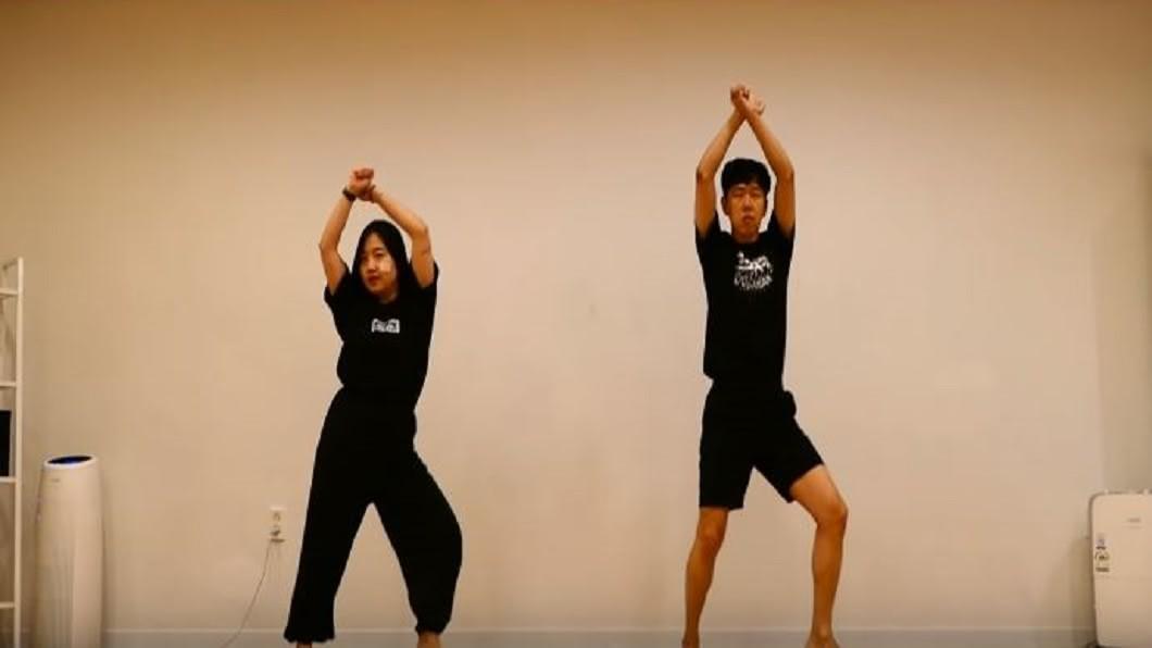 圖/翻攝自조싀앤바믜 Josh & Bamui YouTube 挑戰兩周瘦10公斤 韓網紅瘦身操創百萬點閱