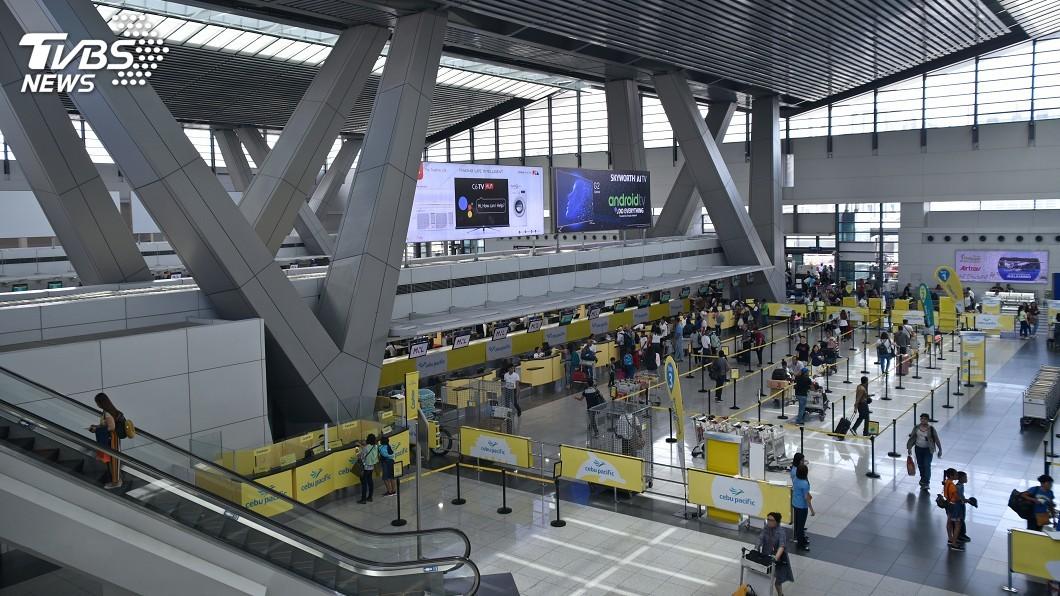 示意圖/TVBS 颱風北冕侵襲菲律賓 馬尼拉機場暫時關閉