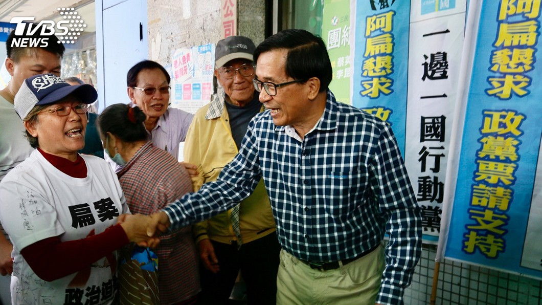 圖/中央社 是否期待被特赦? 陳水扁:尊重總統決定沒有埋怨