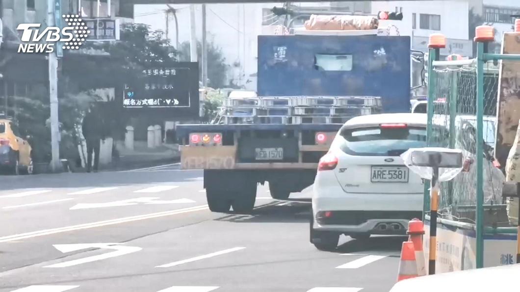 圖/TVBS 擅自裝設!聯結車警示音誤導 警可開罰