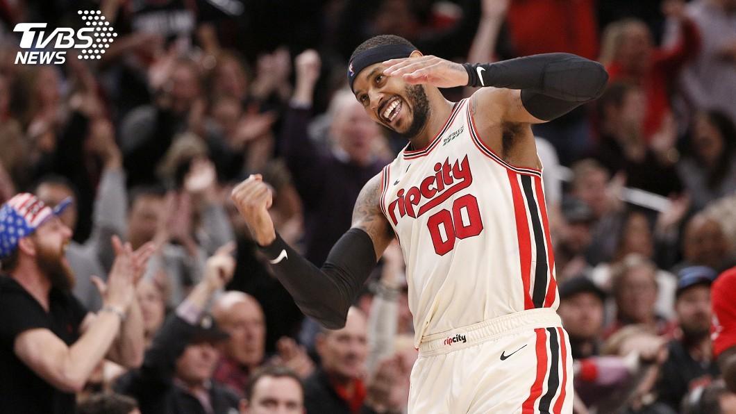 圖/達志影像路透社 安東尼返NBA獲單週最佳球員 字母哥再飆雙十