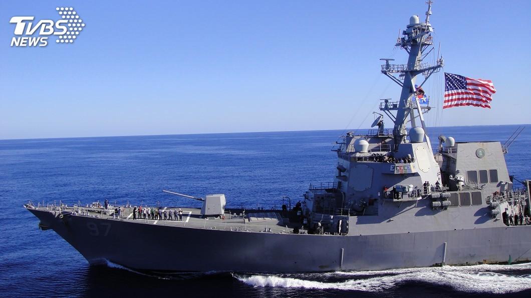示意圖/TVBS 美艦被中國拒停香港 專家:或增加訪台意願