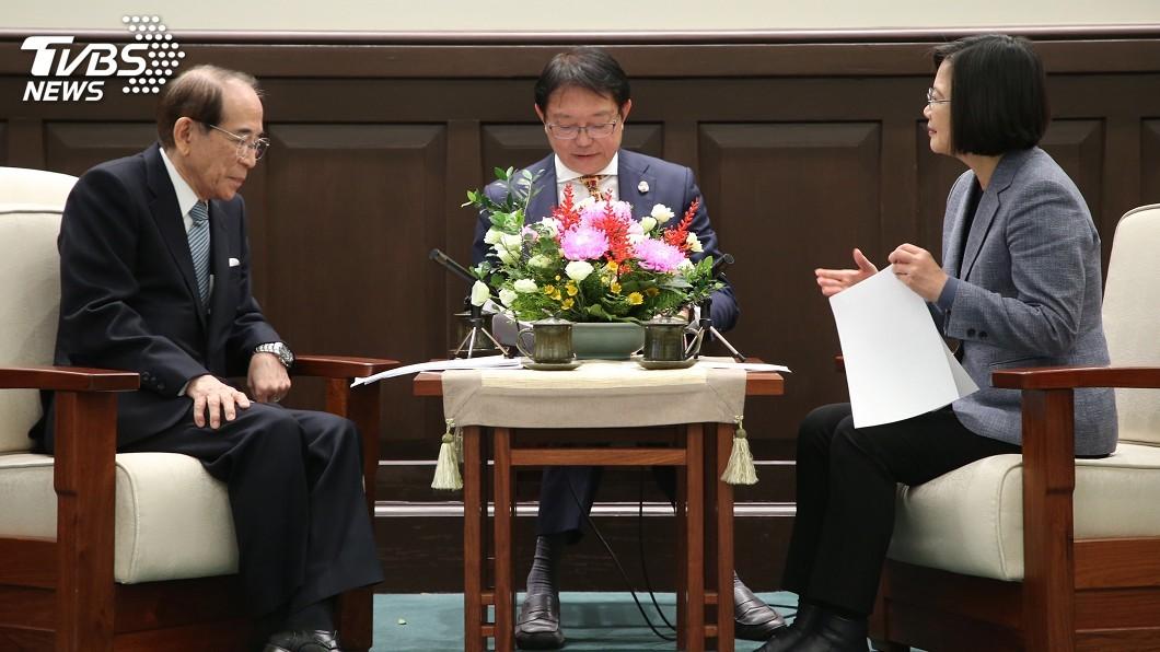 圖/中央社 蔡總統:台日洽談CPTPP 現在正是時機