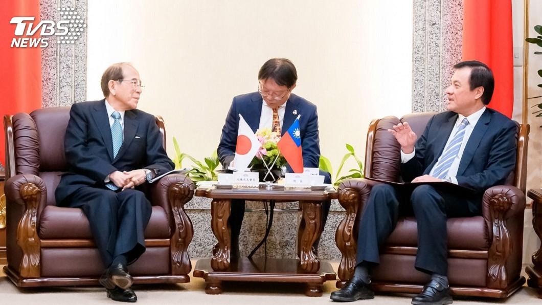 圖/立法院提供 蘇嘉全會晤大橋光夫 談2020大選意義