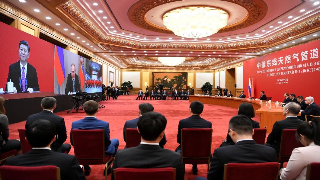 中俄能源合作「世紀工程」 天然氣管道開通
