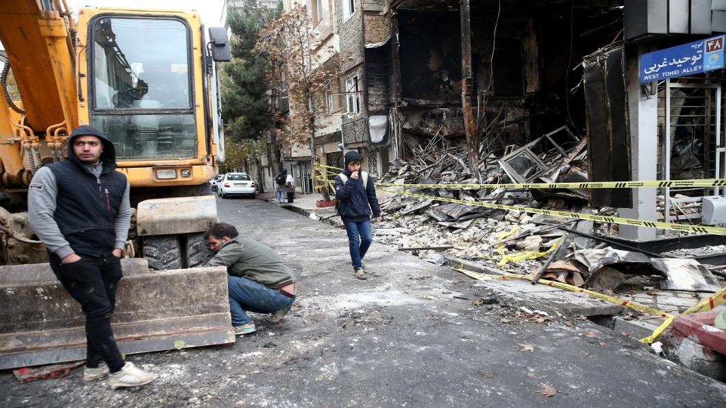 圖/達志影像路透 伊朗血腥鎮壓!國際特赦:死亡上看450人