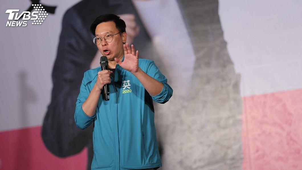 圖/中央社 林飛帆:黨中央哪個人不是楊蕙如霸凌受害者