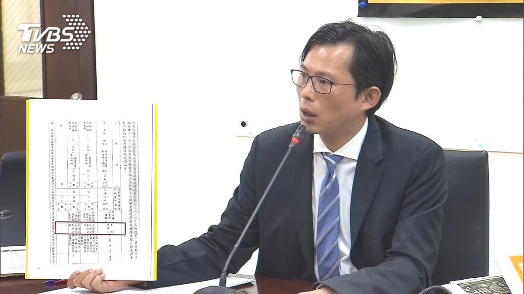 圖/TVBS資料畫面 黃國昌秀砂石案新證據 嗆韓國瑜:請不要再硬拗