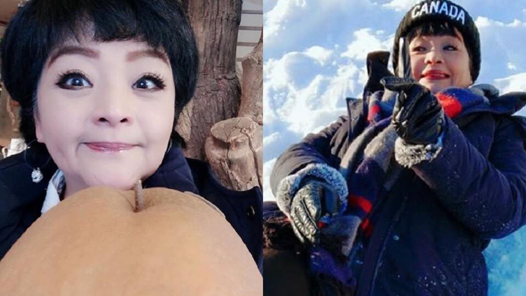 圖/翻攝自易淑寬臉書 兒涉殺警入獄!女星現身「驚爆罹癌」暴瘦28公斤