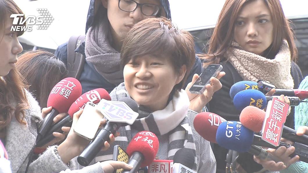 圖/TVBS資料畫面 「卡神」楊蕙如侮辱公署案 台北地院完成分案