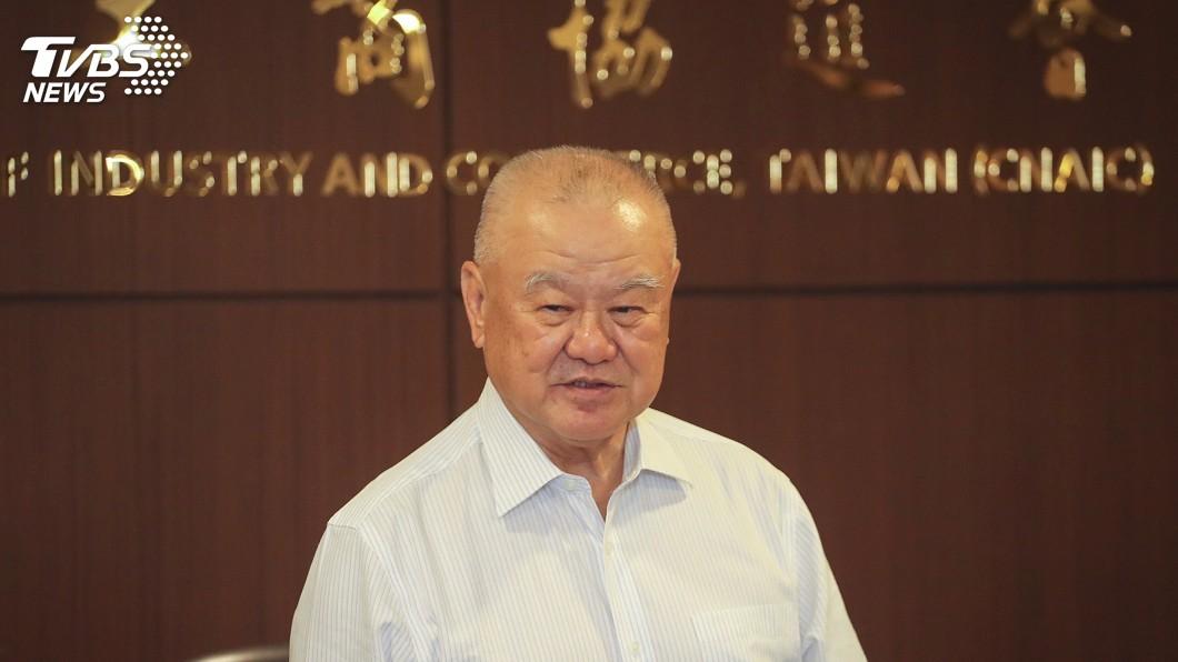 圖/中央社 林伯豐提7大建言 籲總統候選人重視工商界