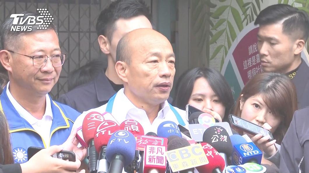 圖/TVBS 網軍抹黑受害者 韓:和賴、柯P組被霸三兄弟
