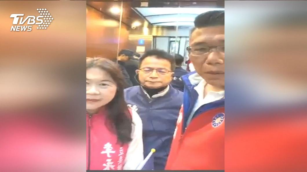 圖/TVBS 批藍為選舉! 謝長廷FB反擊:跟IDCC無關