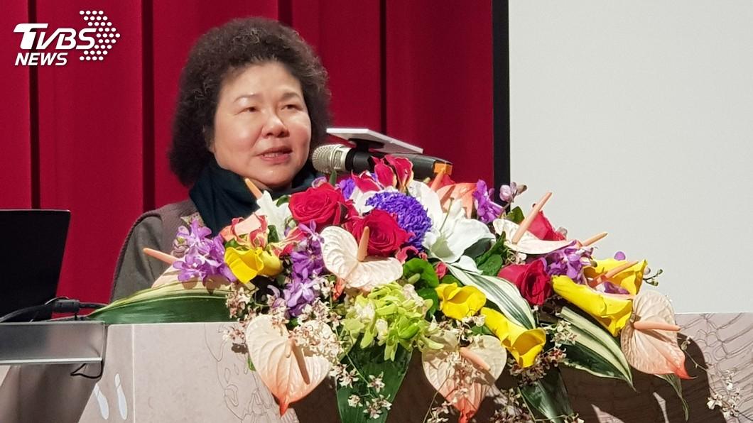 圖/中央社 美麗島40週年 陳菊:為理想努力是生命中浪漫的事