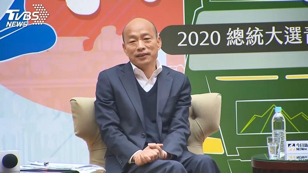 圖/TVBS 稱總統可移動式管理 韓:若當選不離開高雄、不落跑