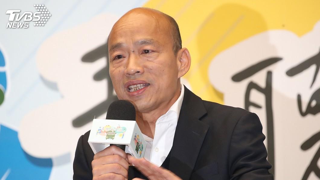 圖/中央社 接受美媒專訪 韓國瑜:不滿被抹紅盼撕下親中標籤