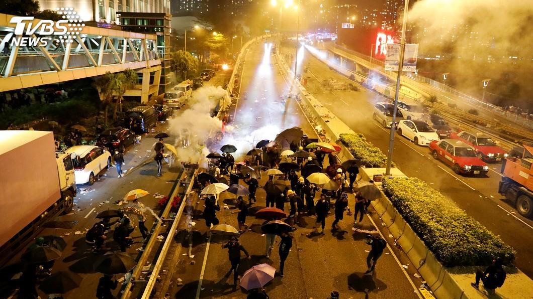 圖/達志影像路透社 香港法案實施不應受中影響 美議員籲華府捍衛價值