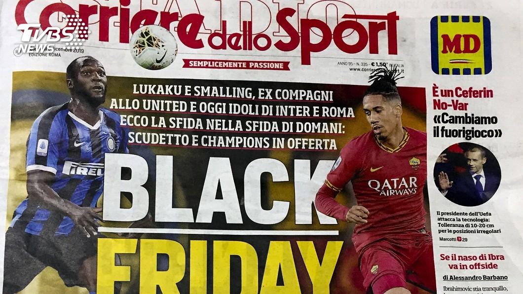 圖/達志影像美聯社 用「黑色星期五」形容非裔球員對決 義報紙挨轟