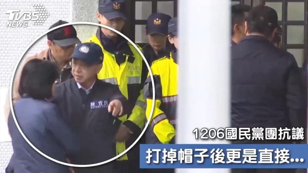 圖/TVBS資料畫面 陳宜民怒推女警!她817字回應 嗆網「讀懂再來吠」