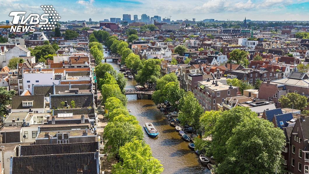 荷蘭的首都阿姆斯特丹。示意圖/TVBS 哪些國家低調卻超強? 網力推2國:強到嚇死你