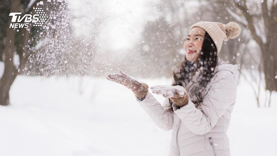 示意圖/TVBS 快訊/日本也好冷! 橫濱初雪、東京中午僅攝氏5度