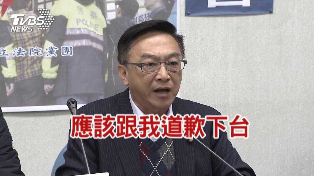 圖/TVBS資料畫面 陳宜民涉推女警 賴清德促誠懇認錯