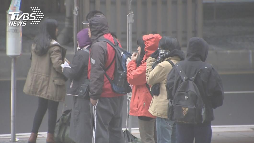 圖/TVBS 今晨最低溫僅7.9℃! 圖解秒懂一週天氣