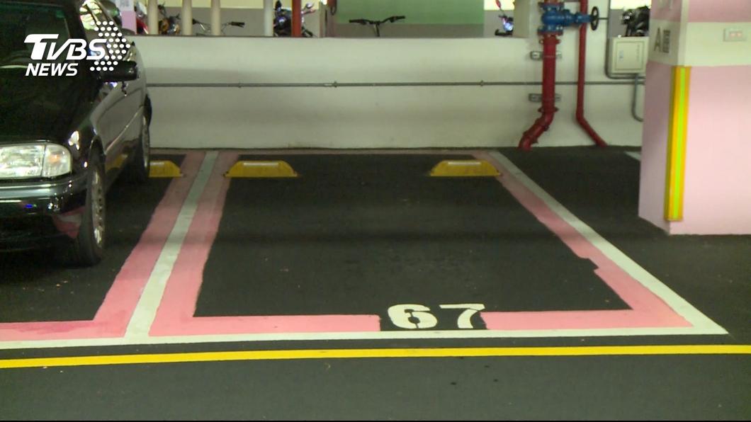 很多人喜歡佔用婦幼停車位。圖/TVBS資料畫面 提醒佔婦幼停車位!女車主冷吐「4字」惹怒眾人