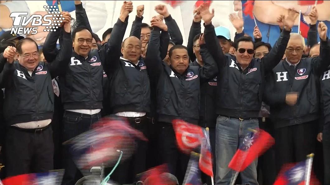 圖/TVBS 中華民國再次高飛!韓國瑜宣布:朱立倫接全國競總主委