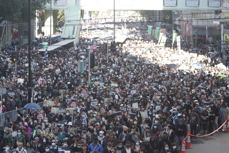 圖/中央社 UN人權專員批大陸限制自由 關切香港與新疆局勢