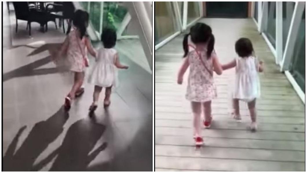馬來西亞日前發生1名不到2歲的女童從空橋墜下身亡。(圖/翻攝自臉書) 空橋地板破大洞「吃人」 母錄影目睹1歲女墜5樓亡