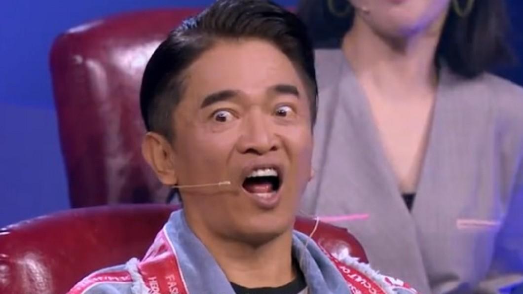 圖/翻攝自《蒙面唱將猜猜猜》官方微博 「憲哥曾說要娶我!」女歌手突自爆吳宗憲嚇到臉歪