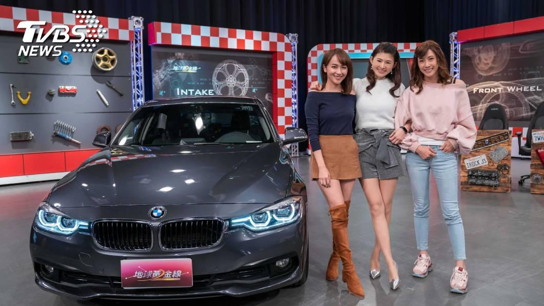 《TVBS《地球黃金線》(左起)來賓蔡逸帆、主持人蘇宗怡、來賓沈慧蘭 。圖/TVBS 《地球黃金線》 美女主播開車超殺