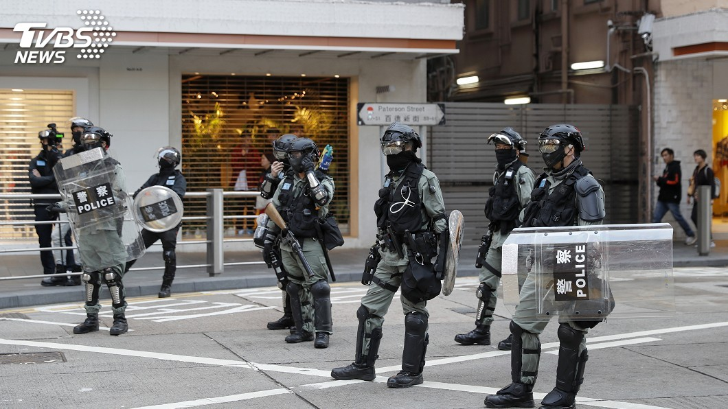圖/達志影像美聯社 反送中滿半年 港警拘6千人射各類彈種4萬枚