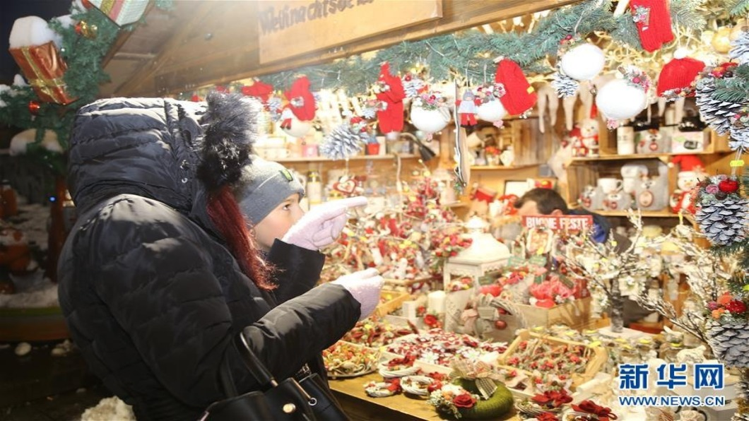圖/翻攝自 新華網 貿易戰衝擊 中國大陸「耶誕訂單」衰退
