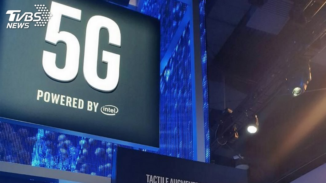 中華電信今天宣布開台5G。(圖/中央社) 中華電5G開台 蔡總統:4年200億助台廠打國際盃